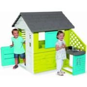 Casuta pentru copii Smoby Pretty cu bucatarie MultiColor