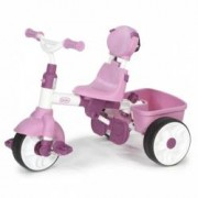 Tricicleta pentru copii 4 in 1 Little Tikes Roz