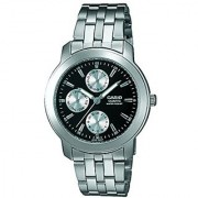 Casio Enticer Black Dial Mens Watch - Mtp-1192A-1Adf (A168)