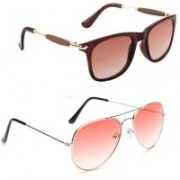 thanda cool Aviator Sunglasses(Multicolor)
