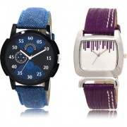 The Shopoholic Black Blue Silver Combo Stylist Designer Combo Pack 2 Black And Blue And Silver Dial Analog Watch For Boys And Girls Stylish Watches For Men