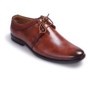 BUCIK Men's TAN Synthetics Leather Lace Up Formal Shoes