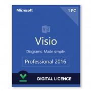 Microsoft Visio 2016 Professional Digital Licence