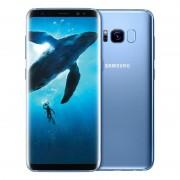 "Samsung Smartphone Samsung Galaxy S8 Plus Sm G955f 64 Gb 4g Lte Wifi 12 Mp Dual Pixel Octa Core 6.2"" Quad Hd+ Super Amoled Refurbished Coral Blue"