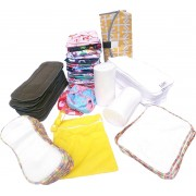 Wasbare luiers Voordeelpakket Meisjes