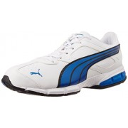 Puma Men's Tazon VI DP Blue Mesh Running Shoes - 10UK/India (44.5EU)