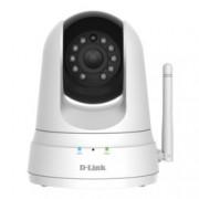 IP камера D-Link DCS-5000L/E, управляема PT(pan/Tilt), 0.3 Mpix(640x480@20FPS), 2,2mm обектив, MJPEG/JPEG, IR осветеност (до 8 метра), вътрешна, Wi-Fi