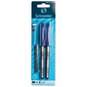 Blister stilou + roller Opus + 2 rezerve Schneider
