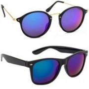 SRPM Cat-eye, Wayfarer Sunglasses(Blue)