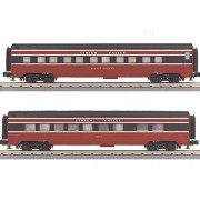 MTH TRAINS; MIKES TRAIN HOUSE LV 2 CAR STREAMLINED SLEEPER/