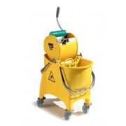 Carro Witty TTS en color amarillo de 30 litros