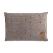 Knit Factory Noa kussen 60x40 taupe