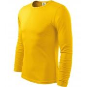 ADLER FIT-T Long Sleeve Pánské triko 11904 žlutá S