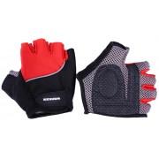 Cyklo rukavice WORKER S900 - červená, vel. XL, 1 pár