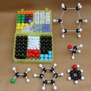 HITSAN INCORPORATION 267PCS Molecular Model Set Kit General and Organic Chemistry Education