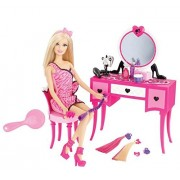 Mattel Barbie Hair-Tastic Vanity With Doll