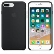 Husa Originala Apple iPhone 7 Plus si iPhone 8 Plus Silicon Neagra