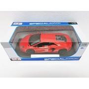 Maisto Orange Lamborghini Aventador LP 700-4 - 1:18 Diecast Model Car Black Special Edition