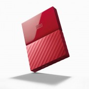 "HDD EXTERNAL 2.5"", 2000GB, WD My Passport, THIN, Red, USB3.0 (WDBS4B0020BRD-WESN)"