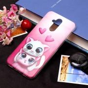 Amantes Cat Patron Funda Suave Para Huawei Mate 20 Lite