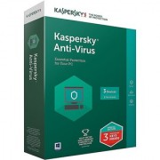 Kaspersky Anti-Virus Latest Version - 3 PC 1 Year Latest Version (Email Delivery in 2 hours- No CD)