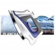 Plancha De Cerámica A Vapor Azul Gris Black Decker D3025mx