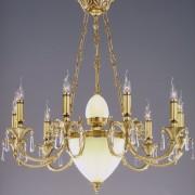 Candelabru 15 brate fabricat manual cristal Asfour Sophie Velas 2263/9+6 Bejorama