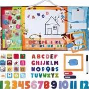 Jucarie educativa Janod Triptik Magnetic Board