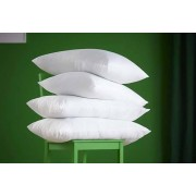 4 Luxury Non-Allergenic Goose Feather & Down Pillows