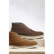Mens Next Suede Chukka Boot - Brown