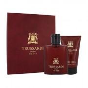 Trussardi Uomo The Red confezione regalo Eau de Toilette 50 ml + doccia gel 100 ml da uomo