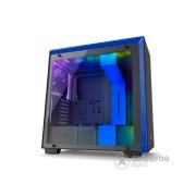 NZXT Midi H700i window kučište bez napajanja, crna/plava (CA-H700W-BL)