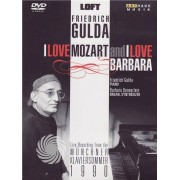 Video Delta Friedrich Gulda - I love Mozart and I love Barbara - Live in Munchen - DVD