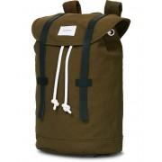 Sandqvist Stig Canvas Backpack Olive