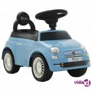 vidaXL Autić Fiat 500 plavi