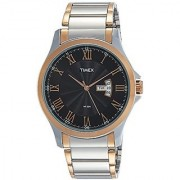 Timex Analog Black Dial Mens Watch-TW000X108