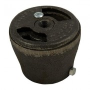 """Brownells Pipe Burners - 1 1/4"""""""" Flat Face Mixer, With Cast Iron Shutter"""