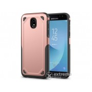 Husa din plastic Gigapack Defender pentru Samsung Galaxy J5 (2017) SM-J530 EU, roz auriu/gri