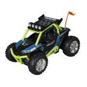 Toy State Off Road Rumbler Polaris Rzr Blue Sounds And Driving Action Vehicle