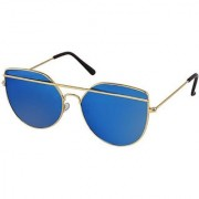 Adrian Cat-eye Sunglasses(Blue)
