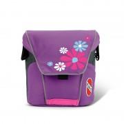 sac pe ghidonul pentru scutere şi montat rotund minunat violet 9722