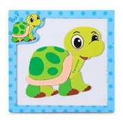 Magnetic Tortoise Puzzle for Toddlers and Kids Ages 3 Years and Up - 7 Magnet Pieces Set on 6x6 Board - Great Travel Activity on Airplanes, Cars, Restaurants or Home.