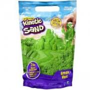 Пясък за моделиране в Пликче, зелен цвят, Kinetic Sand, 025507