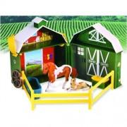 Stablemates Pocket Barn Mar & Foal