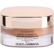Dolce & Gabbana The Foundation Perfect Luminous Creamy Foundation maquillaje efecto piel seda para iluminar la piel tono No. 148 Amber SPF 15 30 ml