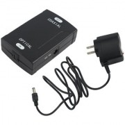 Tech Gear TOSlink Optical to Coax S/PDIF Coaxial Digital Audio Converter Dolby Digital DTS