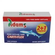 Carti-Flex (Cartilaj de Rechin) 740mg, 30 capsule, Pachet 2+1 CADOU