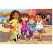 Puzzle de colorat Trefl - Color Puzzle - Dora, 40 piese (55030)