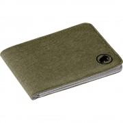 Mammut Sportovní Peněženka Mammut Flap Wallet Mélange Olive