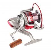 ER 3BB / 10BB Carretes Pesca Plegables Portátiles Pesca Carretes DF Metal Plegable Brazo DF6000